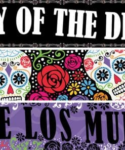 Halloween Day of the Dead Paper Banners