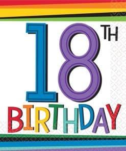 18th Birthday Themes