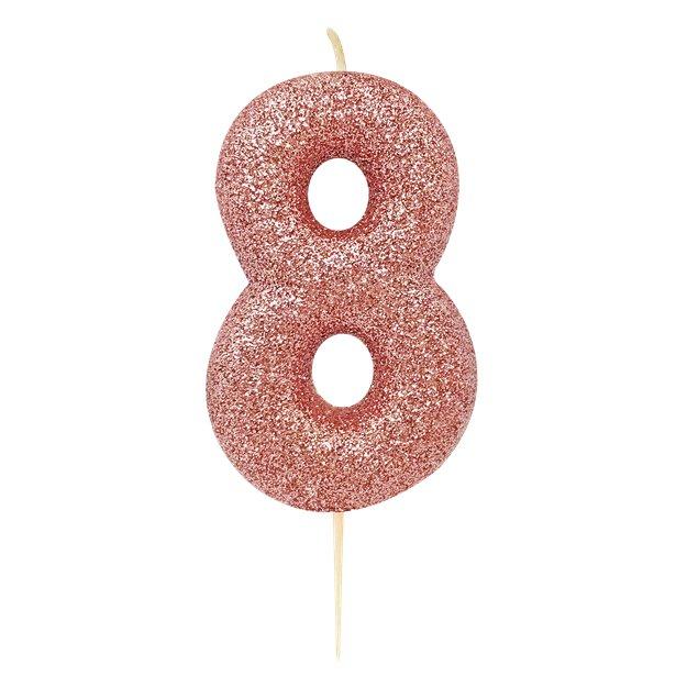 Number 9 Sparkler Candle Size 17.7cm