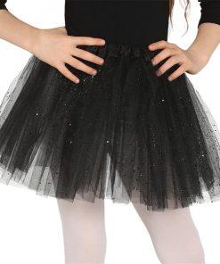 Child Black Glitter Tutu