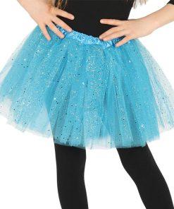 Child Blue Glitter Tutu