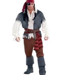 Captain Castaway Adult Costume