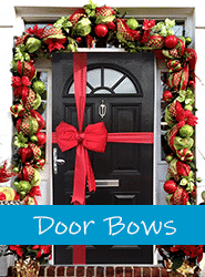 Christmas Door Bows In Stock For Next Day Delivery
