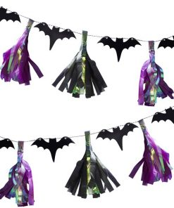 Creep It Real Bat Tassel Garland