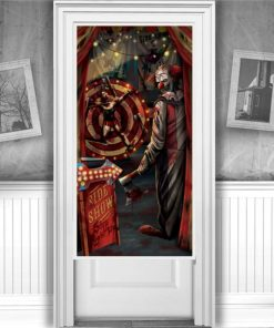 'Creepy Carnevil' Door Decoration