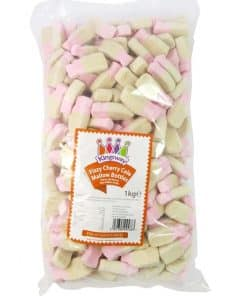 Fizzy Cherry Cola Marshmallow Bottles Bulk Bag