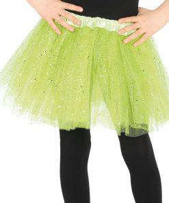 Child Green Glitter Tutu