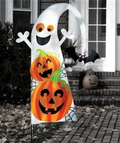 Halloween Friendly Yard Flag
