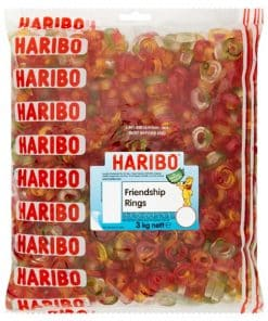 Haribo Friendship Rings Bulk Bag