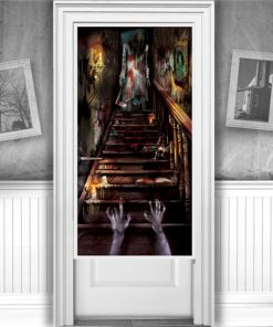 Haunted House Door Decoration