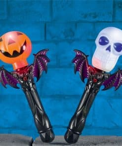 Light Up Halloween Pumpkin or Skull Torch