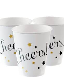 New Year Paper Cups