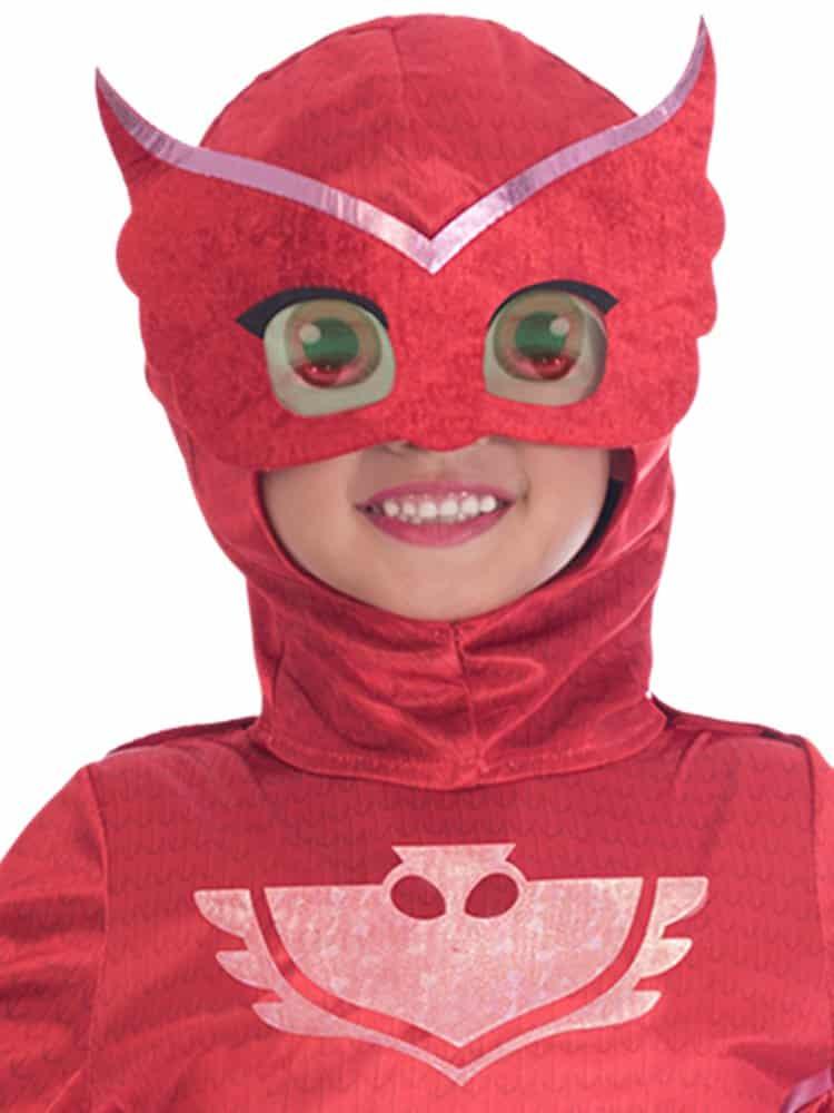 7-8 Years PJ Masks Costume Owlette Deluxe