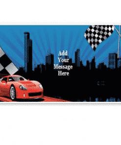 Personalised Racing Banner