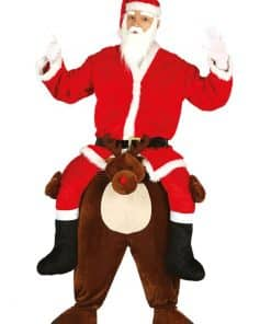 Piggy Back Reindeer Adult Costume