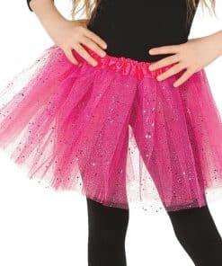 Child Pink Glitter Tutu