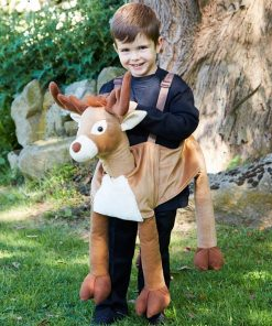 Ride on Reindeer Child Costume