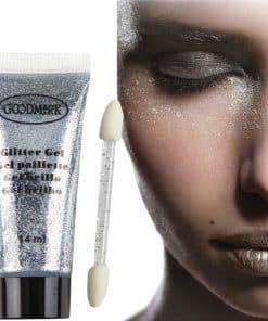 Silver Glitter Tube