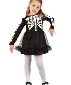 Skeleton Girl Child Costume