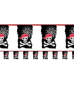 Skull & Crossbone Pirate Bunting