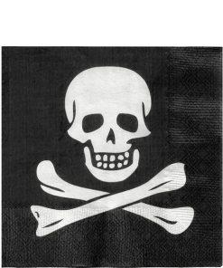Skull & Crossbones Lunch Napkins