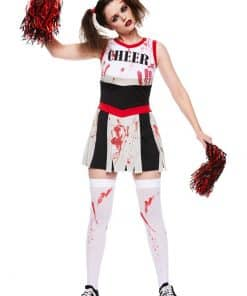 Zombie Cheerleader Adult Costume