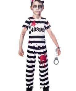 Zombie Convict Boy Costume
