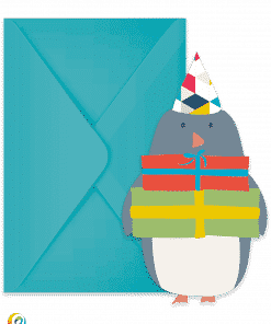Arctic Penguin Invitations