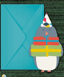 Arctic Penguin Invitations