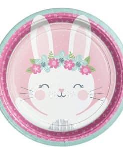 Birthday Bunny Party Dinner Plate