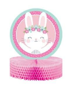 Birthday Bunny Party Honeycomb Centrepiece