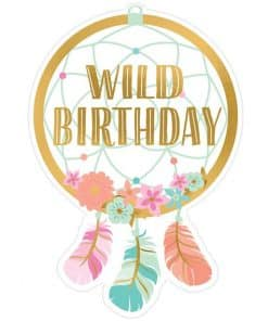 Boho Birthday Girl Invitations