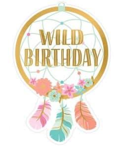 Boho Birthday Girl Invitations