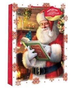 Extra Large Traditional Santa Snowscene Christmas Gift Bag