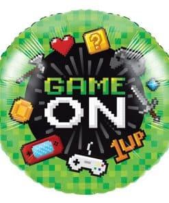Game On Party Metallic Foil Balloon