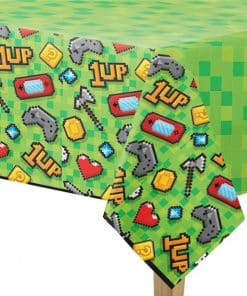 Game On Party Plastic Tablecover