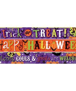 Halloween Children Friendly Paper Banners