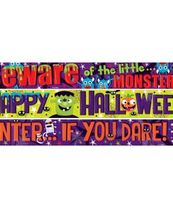 Halloween Family Fun Paper Banners