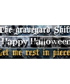 Halloween Paper Banners