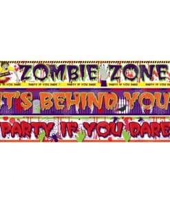 Halloween Zombie Paper Banners