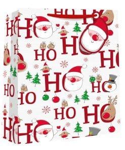 Large Ho Ho Ho Christmas Gift Bag