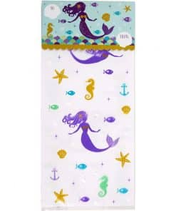 Mermaid Wishes Party Treat Bags Kit