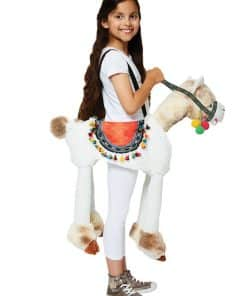 Ride on Llama Child Costume