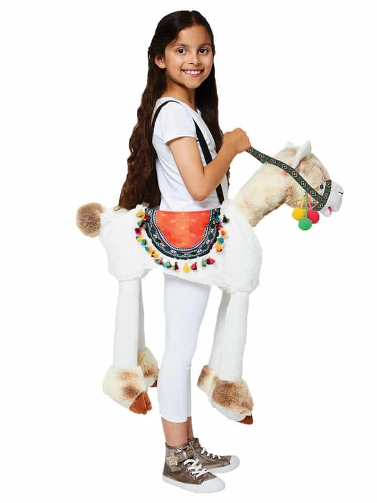 Ride on Llama Child Costume - 3-8 Years