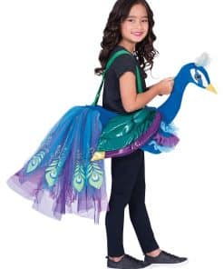 Ride on Peacock Child Costume