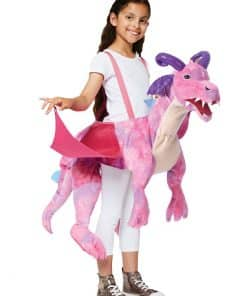 Ride on Pink Dragon Child Costume