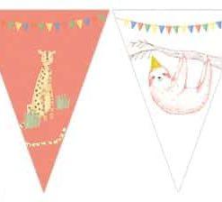 Safari Party Plastic Bunting