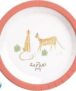 Safari Party Paper Plates