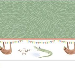 Safari Party Plastic Tablecover