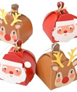 Santa and Reindeer Poppers